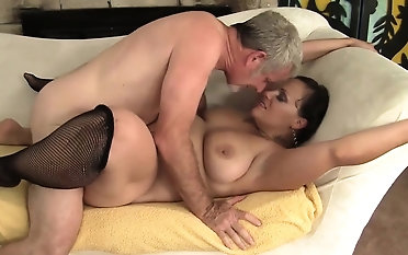 Sexy and horny milf gets her pain in the neck and pussy violated so sympathetic