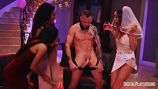 Male stripper with a crave dick got lucky and banged Scarlit Smut