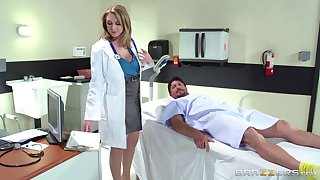 Horny doctor Brooke Wylde surprises their way if it should happen with a fuck