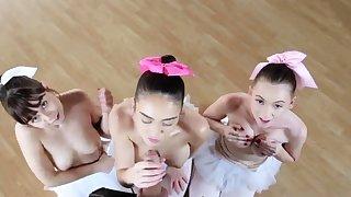Blonde teen epigrammatic tits hd xxx Ballerinas