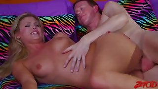 Luminousness Red - Babysitters Pulling On Fat Dick