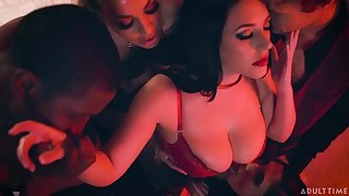 Steamy and worth heeding compilation with loved lady Abigail Mac
