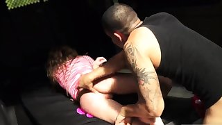 Rough mean hard sex Lizzie Fear went out for a simple