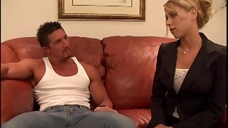 Quickie fucking in the office with cock hungry big-shot Katie Morgan