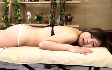 Softcore Slithery rubdown From japanese cougar