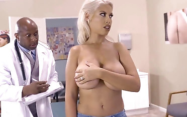 Milf with big natirals fucked away from black doctor everywhere ehavy mode